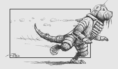 Robotter running...