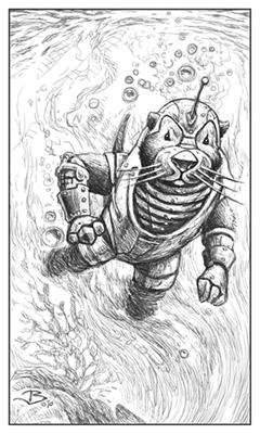 Robotter swimming...